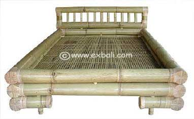 Knock Down Bamboo bed.
