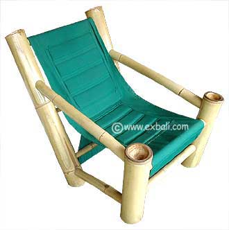 Bamboo lazy chair