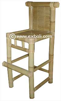 Bar Chair made from Bamboo