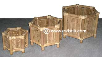 Bamboo landscaping accessories