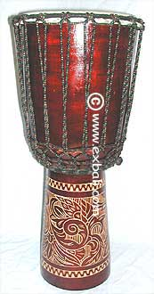 Carved Drum