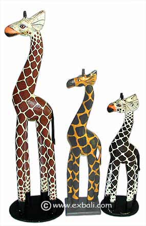 Various sizes of Giraffes available