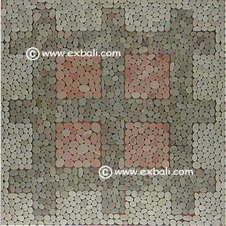 Mosaic tile mats from Bali and Indonesia