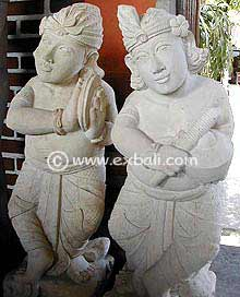 Stone Carvings from Indonesia
