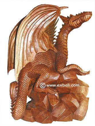 Winged Dragon Statue