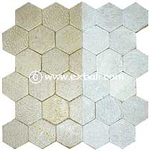 Mesh tiles from Bali