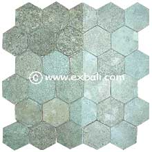 natural mesh tiles from EXBALI