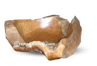 Beautiful teak wash basin